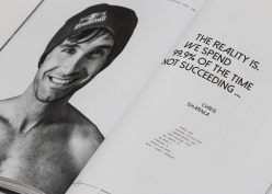 Chris Sharma – The Dude interview in the climbing book Beyond The Face, by Heiko Wilhelm