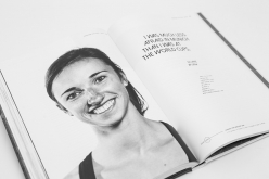 Juliane Wurm – Suddenly Famous And Still Smiling in the book Beyond The Face, by Heiko Wilhelm