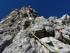 Climbing Spigolo Pietro, Grignetta