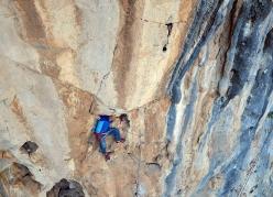 Alex Catlin enjoying a hands-off rest at La Sabrosa