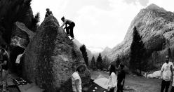 The bouldering spirit at Melloblocco