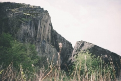Dumbarton Rock in Scozia