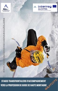 Stage transfrontalieri di accompagnamento alla professione di Guida alpina