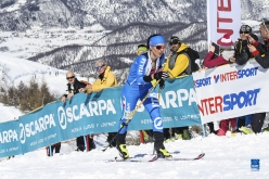 Laetitia Roux, the winner of the Ski Mountaineering World Cup 2016