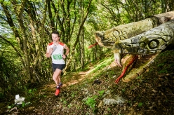 Nicola Spada during the third mountain running competition La Velenosa
