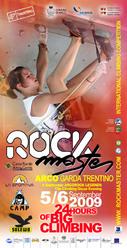 Il Rock Master, da 23 anni segna la storia dell'arrampicata sportiva ad Arco (Lago di Garda Trentino).