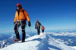 Verso la Cima del Monte Bianco