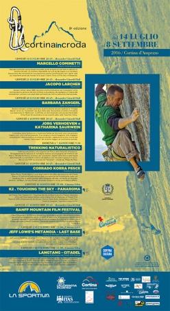 Cortina InCroda: al via l'ottava edizione con Marcello Cominetti