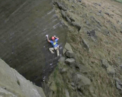 Miles Gibson stepping it out on his Dangermouse E9 7a, Wimberry, England.