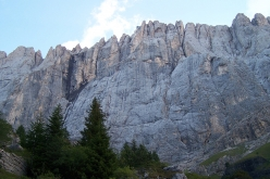 The magnificent south Face of the Marmolada, Dolomites