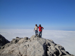 On the summit of the Naranjo de Bulnes