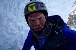Markus Pucher attempting to solo Cerro Torre in summer 2015