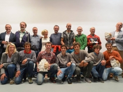 Group photo of the Karl Unterkircher Award 2016