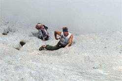 Marco Ronchi climbing Solo per vecchi guerrieri