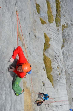 La lunga attesa, Wenden:  Paolo Spreafico on pitch 4