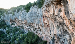 Climbing at Siracusa, with the Italian mountaineering club Ragni di Lecco