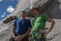 Pavel Blažek and Adam Ondra begin the attempt to repeat Dawn Wall, El Capitan, Yosemite