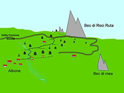 Bec Roci Ruta, mappa generale