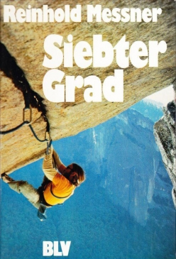 Ray Jardine in 1977 making the second ascent of Separate Reality in Yosemite. This famous photo was used on the front cover of Reinhold Messner's book the 7th grade and also on the cover of the British magazine Mountain, and inspired generations of climbers.