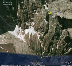 Moonwalk 1000m, WI6/M7, Zillertaler Alpen, Austria. Prima salita: Albert Leichtfried & Benedikt Purner 03/12/2009