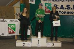 Podio femminile: 1° Jenny Lavarda, 2° Elena Chiappa, 3° Alexandra Ladurner