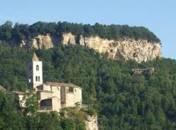 La bella falesia di San Giorgio, Marche.