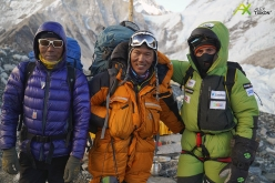 Ready for the summit bid: the Spanish expedition led by Alex Txikon attempting to climb Everest in winter without supplementary oxygen