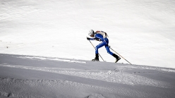 During the third stage of the Ski Mountaineering World Cup 2017 at Erzincan in Turkey. Individual race