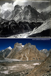 Baltoro morraine from Liligo 1909-2009
