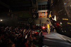 Sunday finals of Polish Bouldering Cup, Krakow Mountain Festival