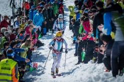 Axelle Mollaret and Lorna Bonnel place third in the Pierra Menta 2017 ski mountaineering competition