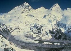 La grande coppia: Everest e Lhotse.