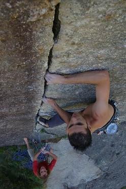 Marco Spataro, fotografia e arrampicata in Val di Mello