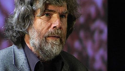 Reinhold Messner at the TrentoFilmfestival 2009