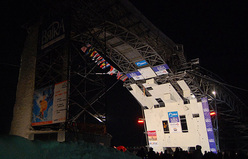 The first stage of the Ice Climbing World Cup 2010 in Kirov, Russia
