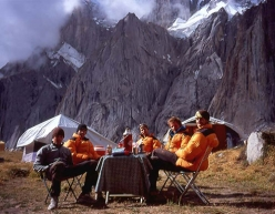 The team in base camp.