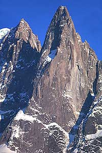 The magnificent West Faces of the Drus