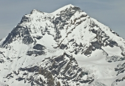 The South Face of Grand Combin de Valsorey