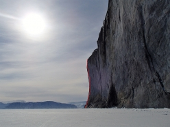 MantraMandala, East Face of The Ship's Prow, Baffin Island (Marek Raganowicz 23.03 - 08.04.2017)