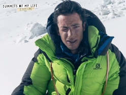 Kilian Jornet Burgada after his ascent of Everest on 27 May 2017