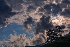 Pian dell'Alpe, Valle Chisone (TO), dopo il temporale