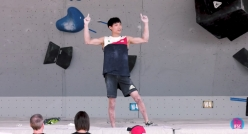 Jongwon Chon wins the Vail stage of the  Bouldering World Cup 2017
