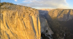 Yosemite Valley seen from above