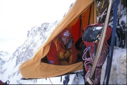 Jannu 7710m, N Face, Direct Russian, April/May 2004,11 mountaineers, expedition leader Alexander Odintsov
