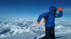 Katie Bono, born October 1980, climbed Denali in Alaska on 13 and 14 June 2017 in just 21 hours and 6 minutes