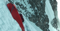 Gasherbrum I SW Face: the beautiful fifth bivy at 7830 meters