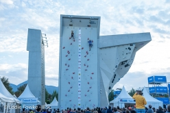 During the IFSC Youth World Championships 2017 at Innsbruck, Austria