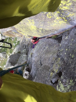 During Val Grande Verticale 2017, the climbing, bouldering and walking meeting in Vallone di Sea and Val Grande di Lanzo