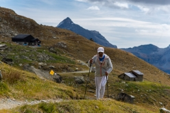Tor des Géants 2017: leaving rifugio Grand Tournalin
