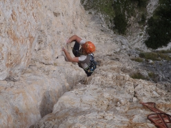 During the Rock Climbing in the the Dolomites module of the Aspirant Mountain Guides 2017 - 2018